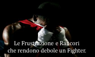 Frustrazioni e Rimorsi logoranti del Fighter.